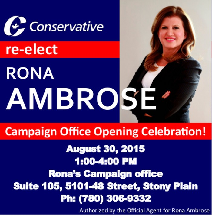 Morinville - Rona Office Opening