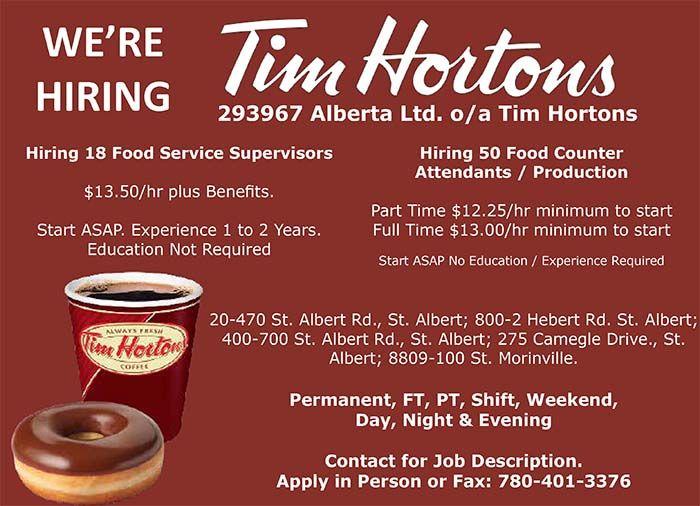 TIM HORTONS-REVISED